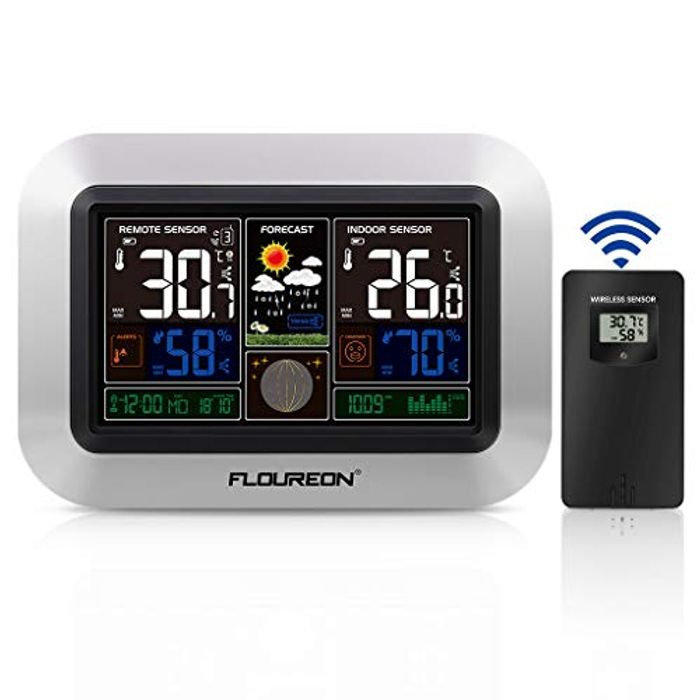 Wireless Weather Stations with Outdoor Sensor