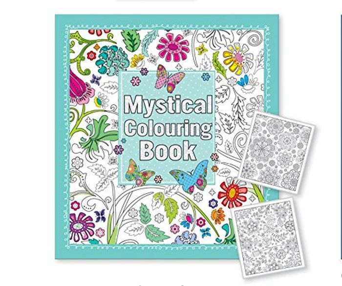Click to Open Expanded View Mystical Colouring Book for Adult