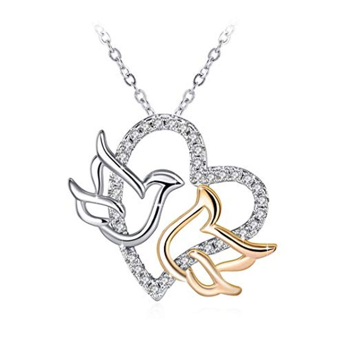 *LIGHTNING DEAL* Gorgeous Dove Necklace