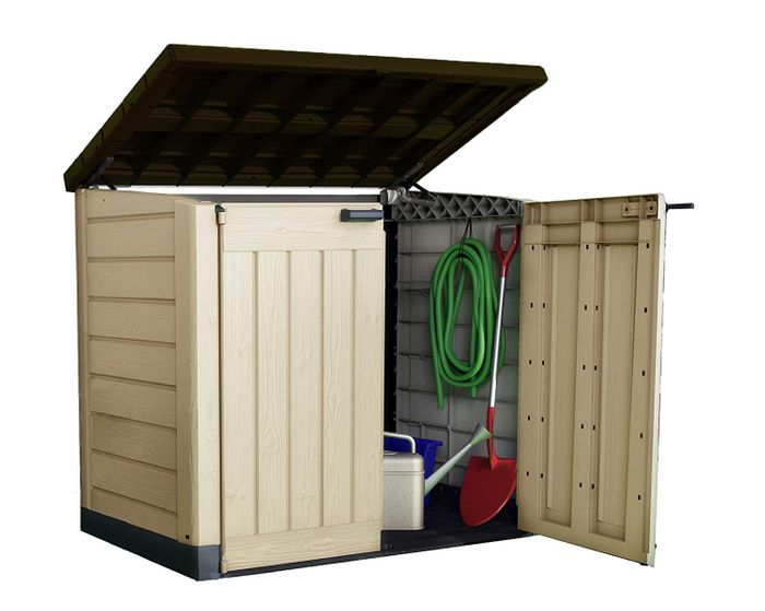 £52 Discount - Keter Store-It out Max Outdoor Plastic Garden Storage Shed