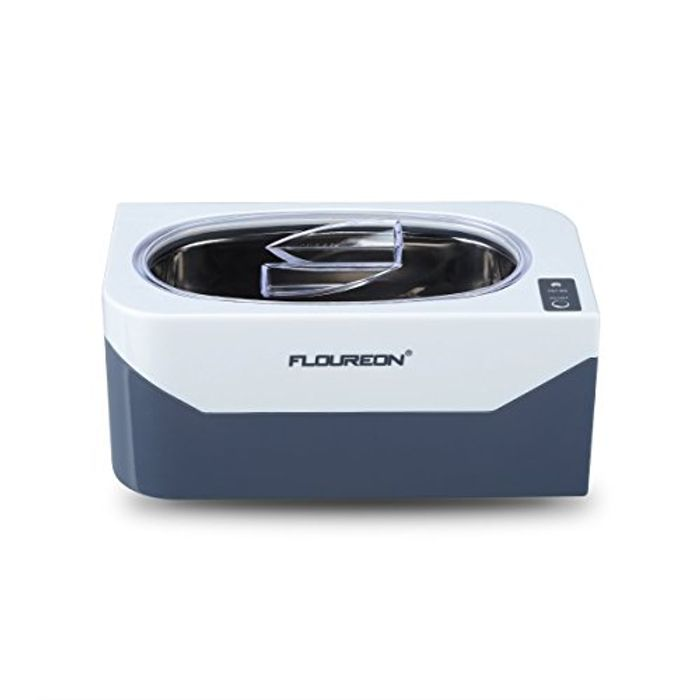 FLOUREON 400ml 600ml Ultrasonic Jewelry Cleaner Machine