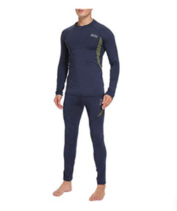 Men's Thermal Clothing, Top + Bottoms - Half Price!