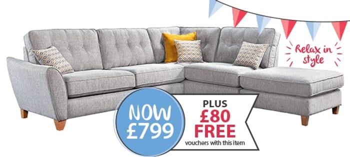 Alexis Corner Sofa Best Price