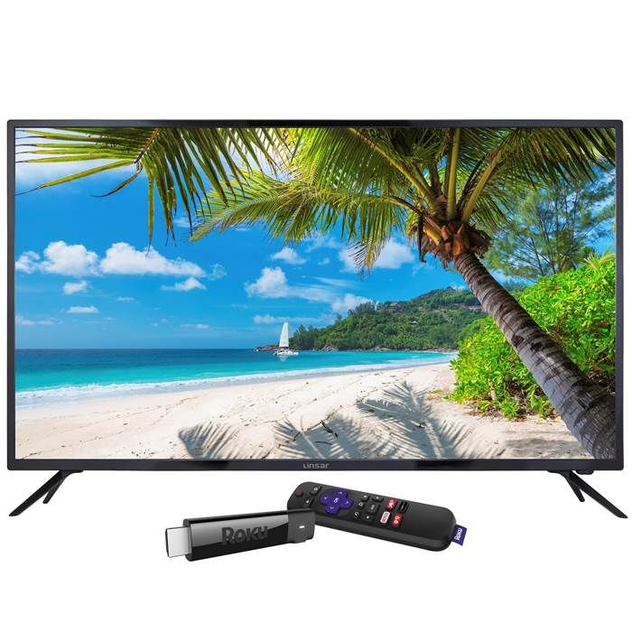 Linsar 55inch UHD LED 4K TV with Roku Streaming Stick £299 with Code