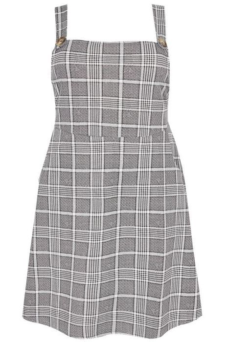 Half Price Cute Pinafore Dress