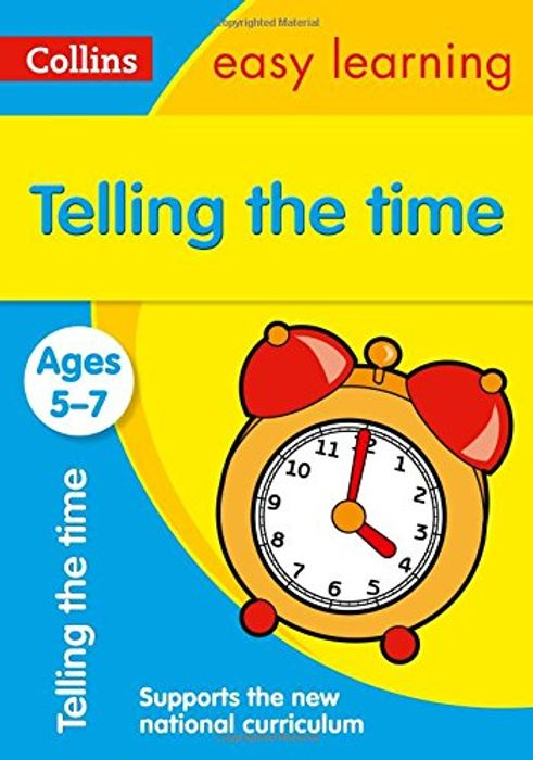 Learn to Tell the Time Book - HALF PRICE!
