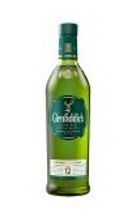 Glenfiddich 12 Year Old Malt Whisky 70cl - 30% Off