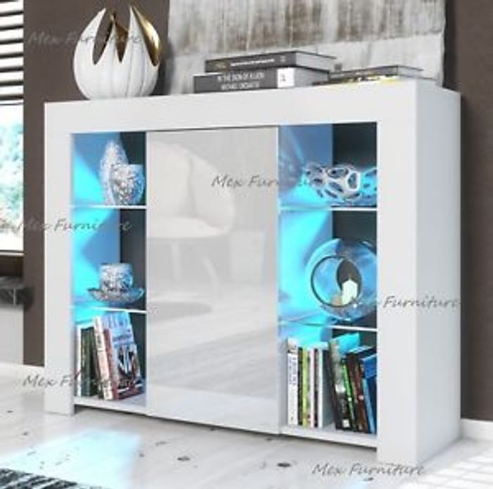 Unit TV Cabinet Cupboard Sideboard