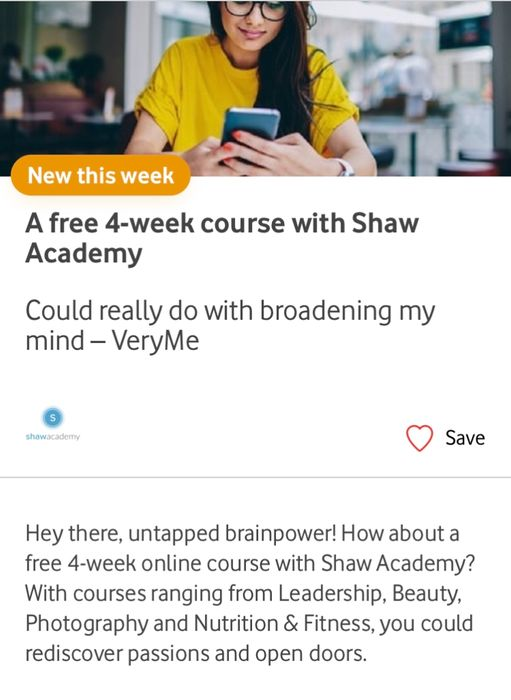 4 Week Course at Shaw Academy
