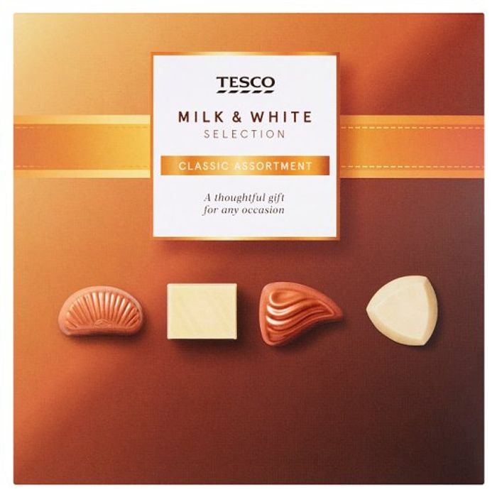 Half Price Tesco Chocolate Collection 130G