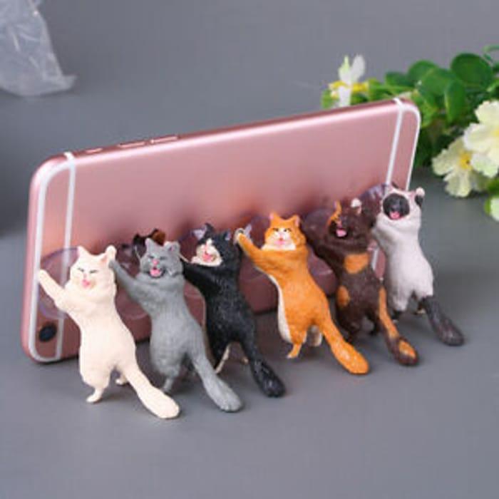 Novelty Cat Phone Holder