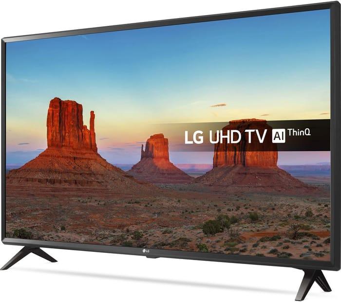 "LG 49"" Smart Ultra HD HDR LED 4K TV"
