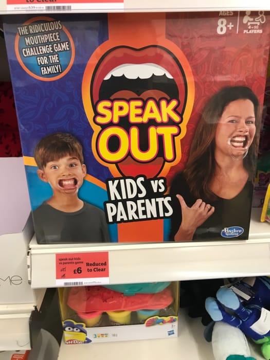 Speak out - Kids vs Parents