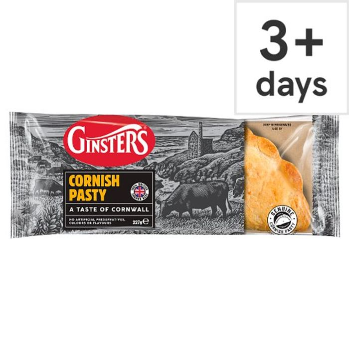 Ginsters Original Cornish Pasty 227G