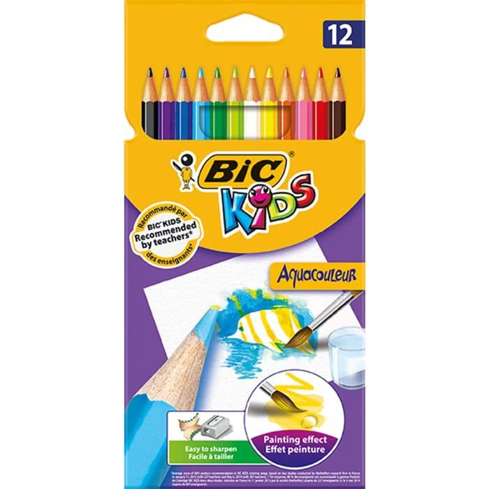 Bic Kids Aquacolour Painting Pencils 12 Pack