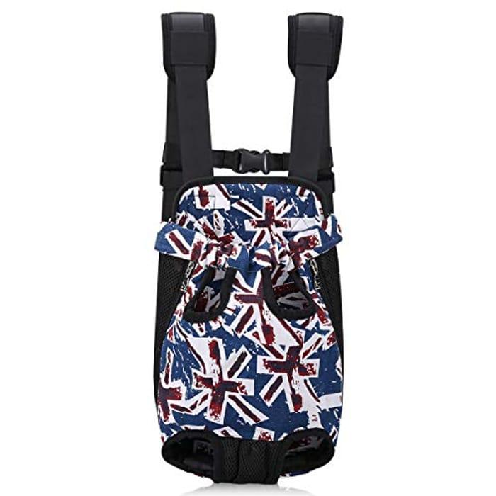 Front-Facing Dog Carrier Backpack
