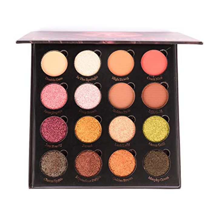 50% off Secret Code Magnetic Eyeshadow Palette 16 Colors Shimmer Matte