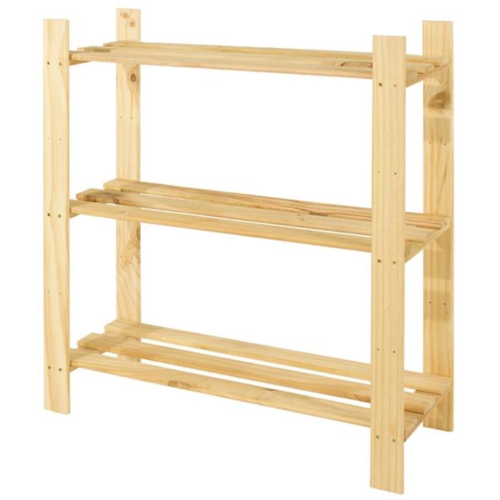 3 Shelf Narrow Storage Unit