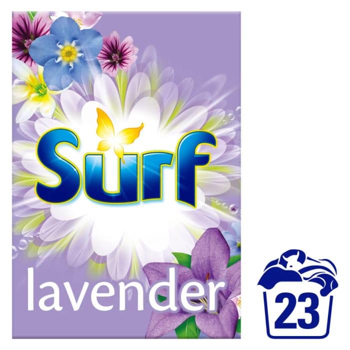 Surf Lavender & Spring Jasmine Washing Powder 23 Washes 1.6kg