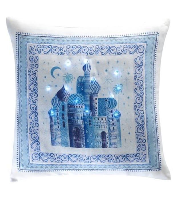 Festive Palace Light-up Cushion