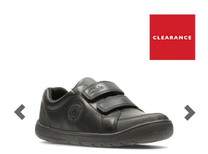 Fuzzle Pop Pre - F Fit Black Leather Boys Shoes