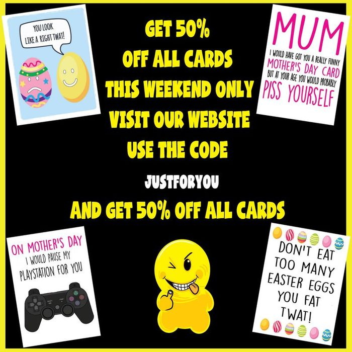 50% off All Cards