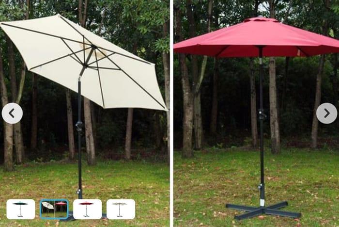 2.7m Patio Umbrella - 3 Colour Options