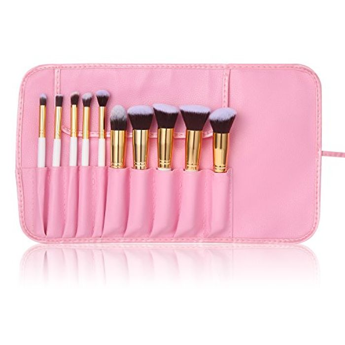 Beauty Makeup Brushes Set,Makeup Brushes with Good Quality Brushes Bag
