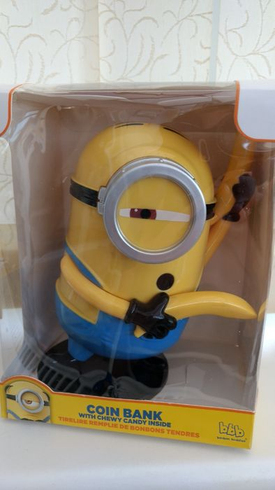 Despicable Me 3 Minions Coin Bank - £1 Instore