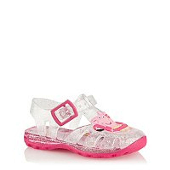 First Walkers Peppa Pig Jelly Sandals