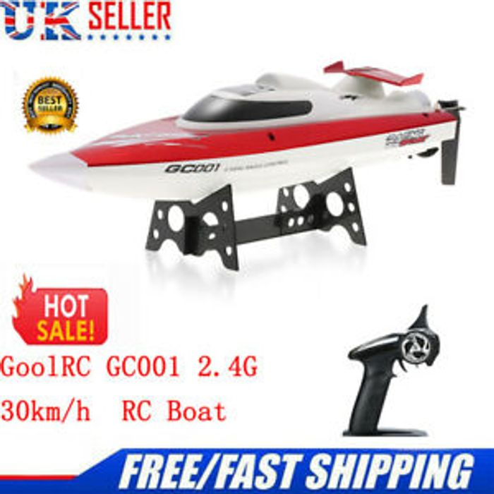 GoolRC GC001 2.4G Water Cooling System Self-Righting Racing RC Boat
