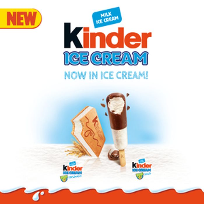 Have a Child Age 6-13? Sign up to Test Kinder Ice Creams