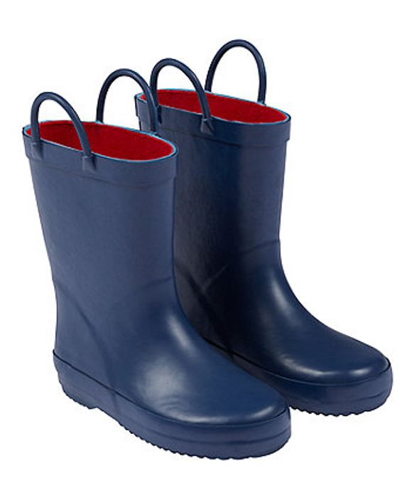Childrens Wellies Wellington Boots Navy - Save £6