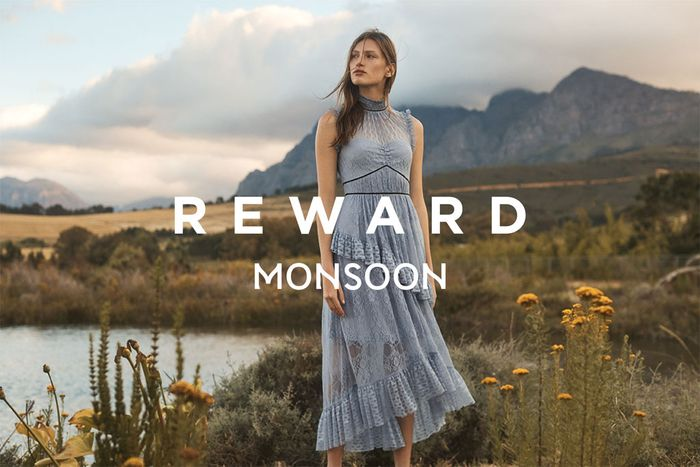 Sign up to Monsoon Reward for Offers