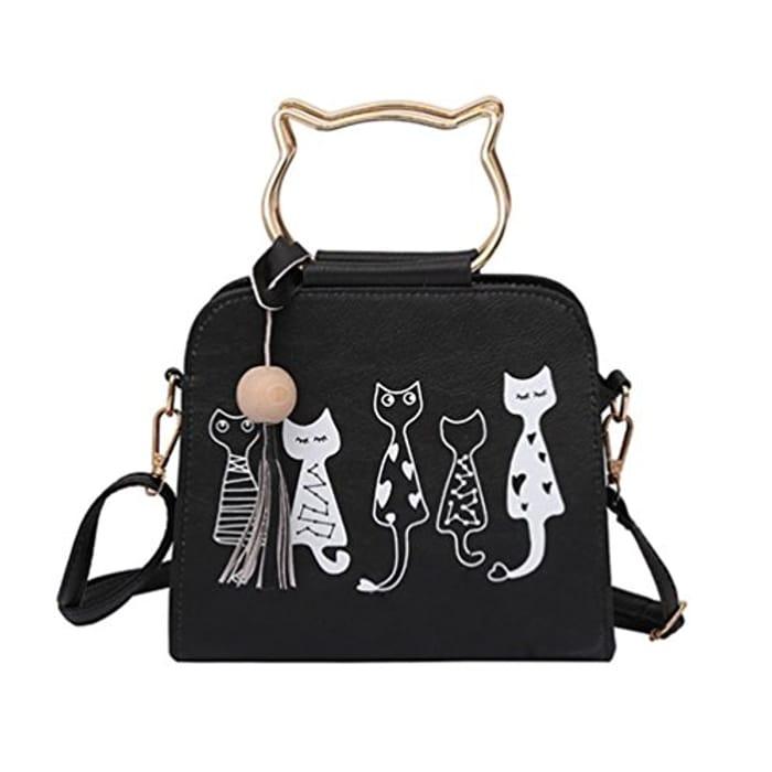 Animal Printing Messenger Bag
