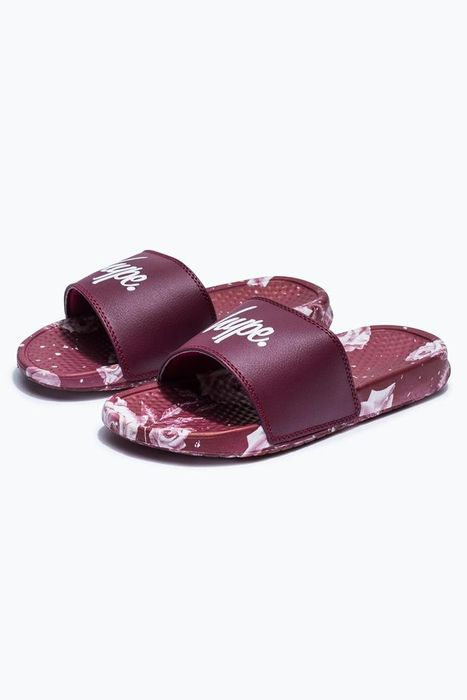 Hype Burgundy Sunrise Rose Sliders