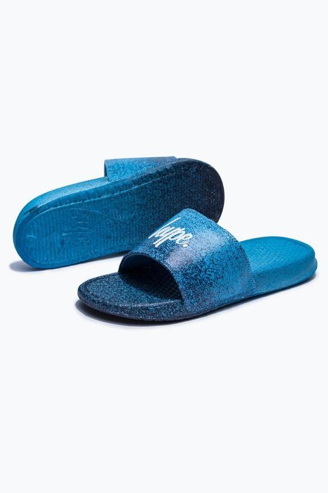 Hype Navy Speckle Fade Sliders - Save £10