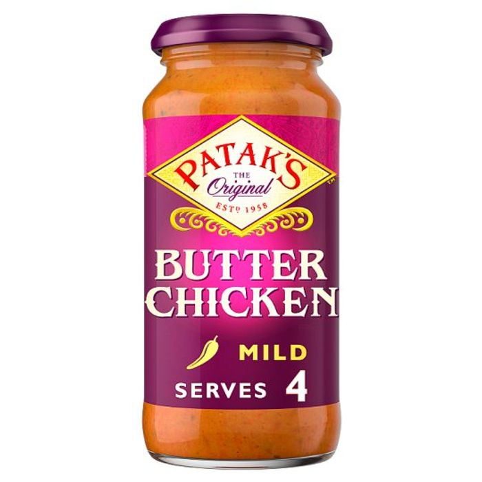 Pataks Butter Chicken Cooking Sauce 450G Loads of Pataks Sauces Half Price