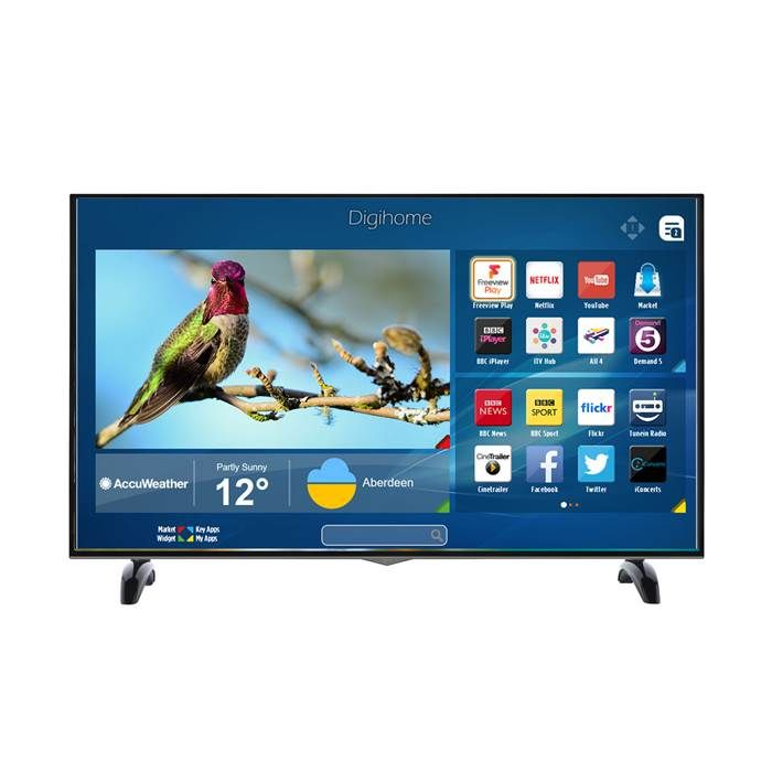 WOW £409 Digihome 65UHDHDR Black - 65inch 4K Ultra HD HDR LED Smart TV
