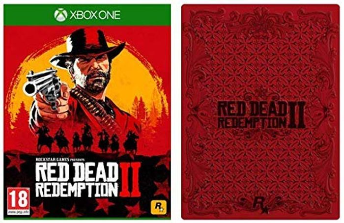 Red Dead Redemption 2 with Collectible SteelBook PS4 and Xbox One