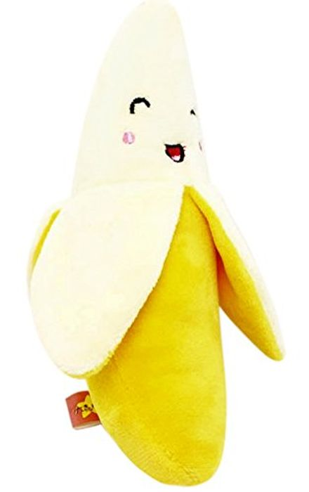 Banana Squeaky Dog Toy Only 92p plus Free Delivery