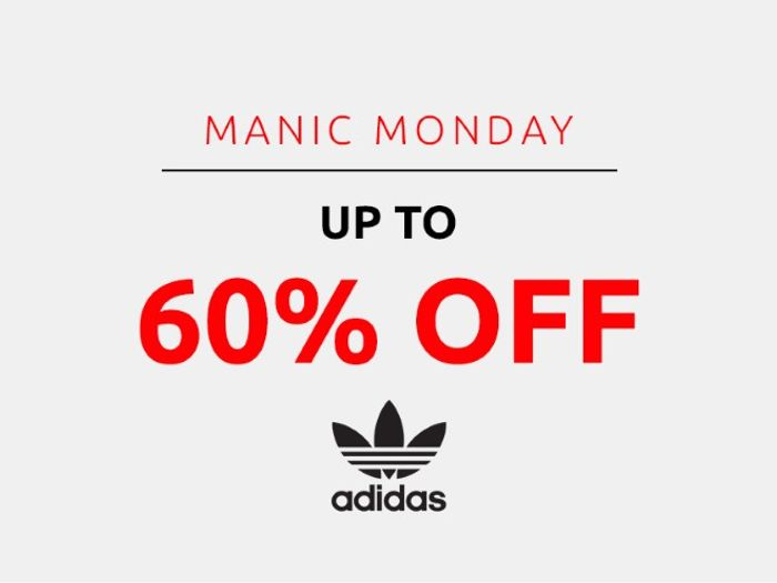 Save up to 60% on Adidas | Manic Monday