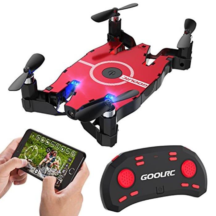 GoolRC T49 Nano Drone with 720P HD Camera 6-Axis Gyro