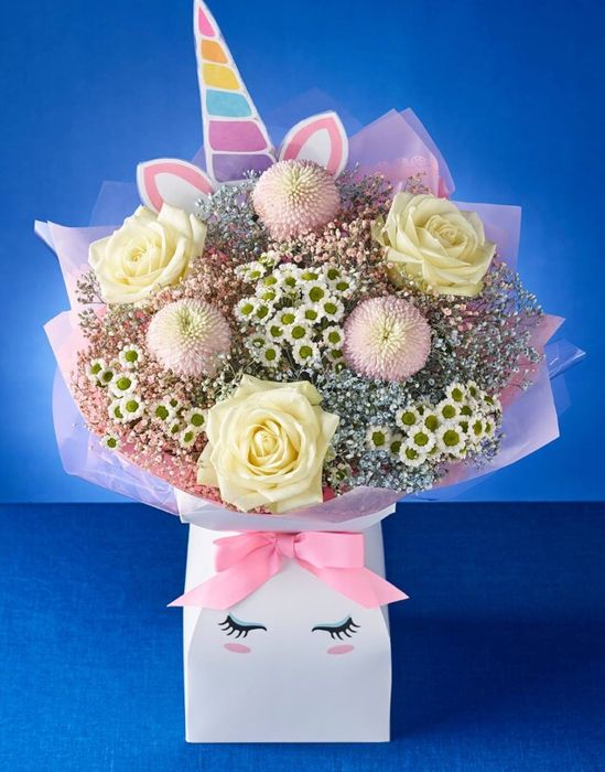 **AVAILABLE from 27th MARCH** GORGEOUS Unicorn Flowers for Mothers Day