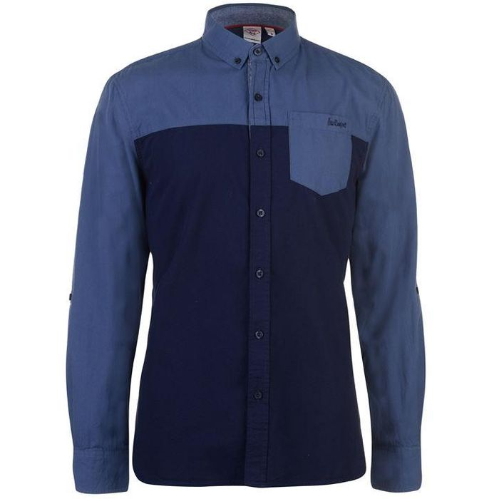 Lee Cooper Long Sleeve Casual Shirt Mens
