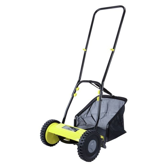 Cheap Challenge 30cm Hand Push Cylinder Lawnmower
