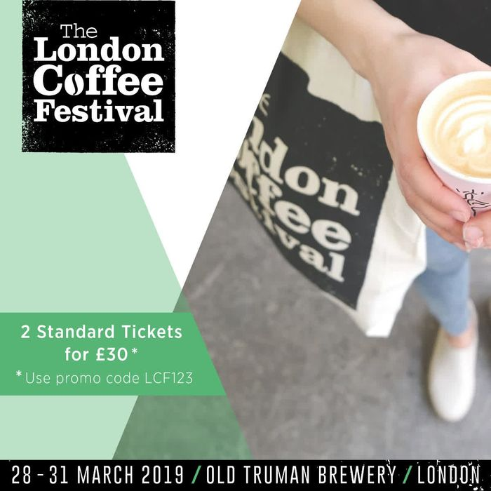 Two London Coffee Festival Tickets for £30