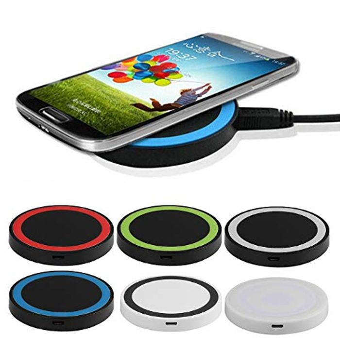 Wireless Charging Pad Phone Wireless Charger for Samsung Android