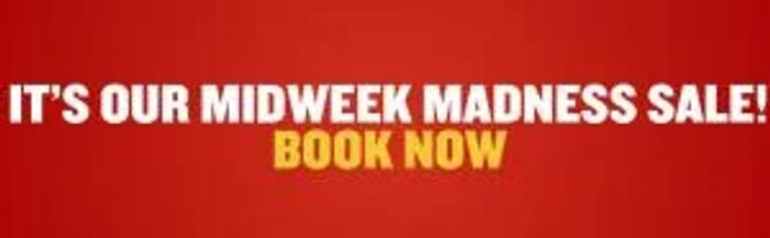 Ryanair Midweek Madness SALE! Flights from £4.98