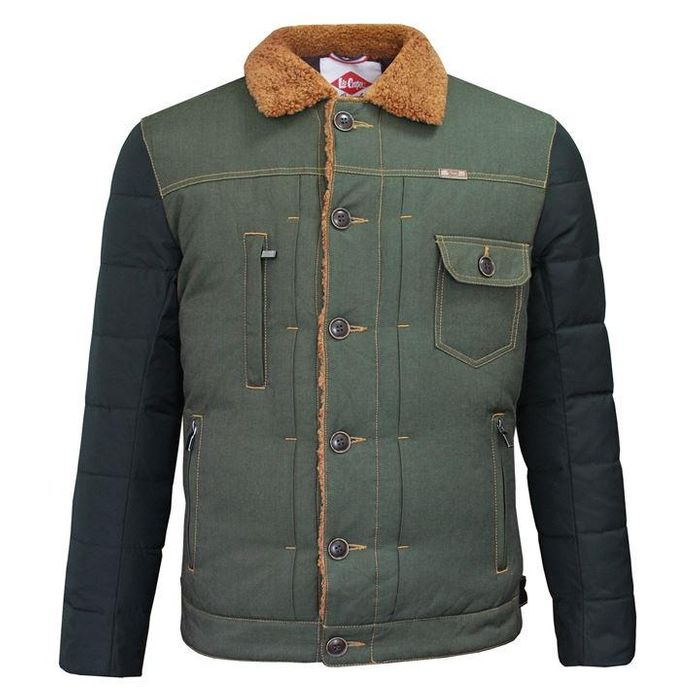 Lee Cooper Sherpa Contrast Jacket Mens (Size S & XS)